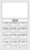 2018 WANNA D8? CALENDAR MAGNET